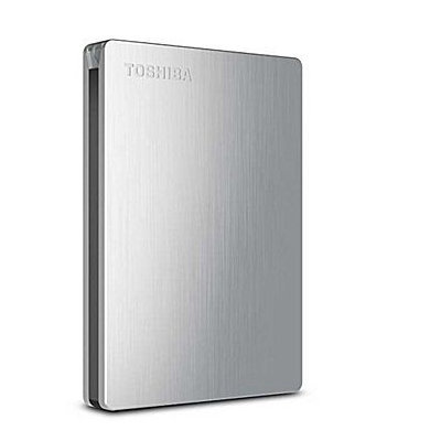 Canvio Slim II 1TB Portable Hard Drive With Pogoplug