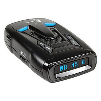 Whistler CR75 Laser Radar Detector, Blue OLED Text