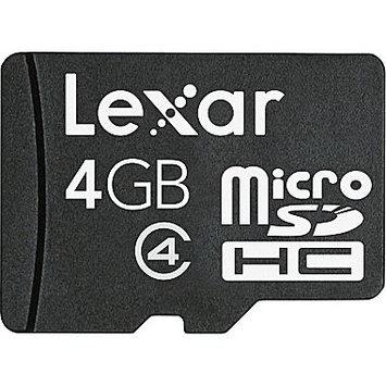 Crucial Technology LSDMI4GBABNL 4GB Microsdhc Mobile W/o Flsh Adapter Small Blister Class 4