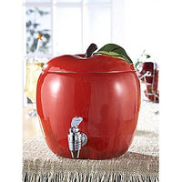 Jay Imports American Atelier Fresh Fruit Apple 188-Oz. Beverage Dispenser