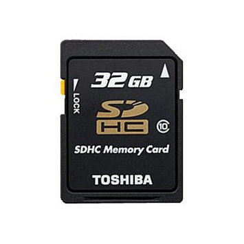 Toshiba PFS032U-1DCK 32GB Secure Digital High Capacity (SDHC)