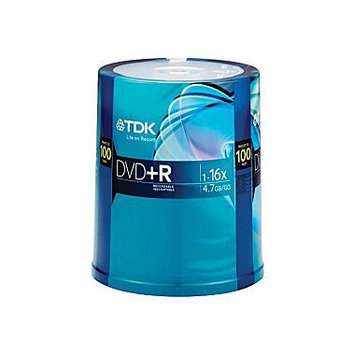 TDK 16X DVD+R 4.7GB 100pk Spindle