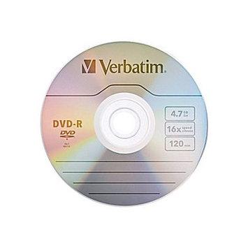 Verbatim 16x DVD-R Media 4. 7GB 120mm Standard 95099