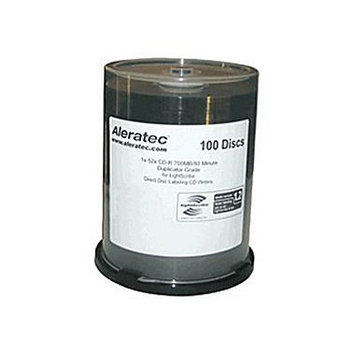 Aleratec LightScribe 52x CD-R Media 110116