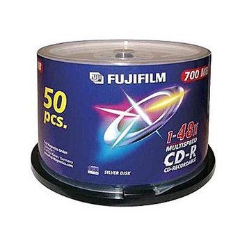 FUJI FILM 600002931 CDR PRINT 50PC WHITE INKJET 48X