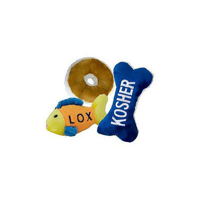 Copa Judaica Chewish Treats Sunday Brunch Dog Toys