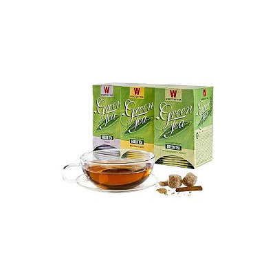 Wissotzky Tea The World of Green Teas Collection