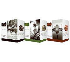 Wissotzky Tea Elise's Journey 3 Gift Boxes w/ 54 Silken Bags