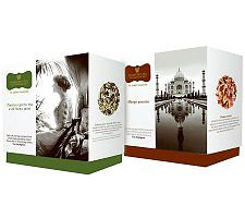 Wissotzky Tea Joyce's Journey 2 Gift Boxes w/36Silken Bags