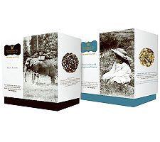 Wissotzky Tea Carole's Journey 2 Gift Boxes w/36 Silken Bags