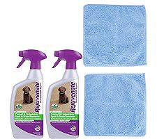 Rejuvenate 24oz Carpet/Upholstery Cleaners & Microfiber Cloths