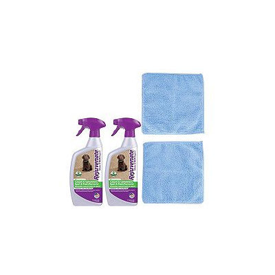 Rejuvenate 24oz Carpet/Upholstery Cleaners & Microfiber Cloths