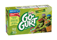 GO-GURT® Berry Bash Shell Shockin' Cherry Tango Yogurt Variety Pack