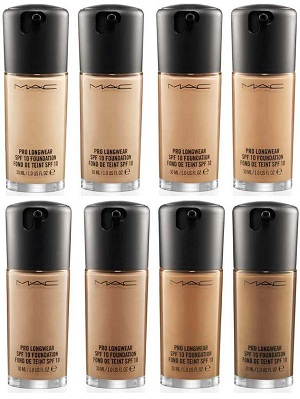 M.A.C Cosmetics Pro Longwear SPF 10 Foundation