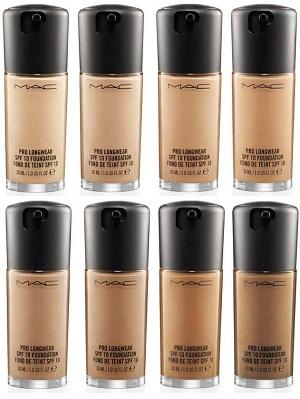 M.A.C Cosmetic Pro Longwear SPF 10 Foundation