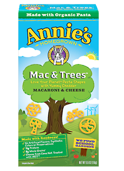 Annie's® Organic Mac & Tree  Macaroni & Cheese