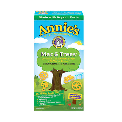 Annie's® Organic Mac & Tree  Macaroni & Cheese