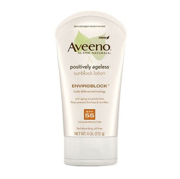 Aveeno® Positively Ageless Sunblock Body Lotion SPF 55