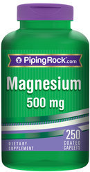 Piping Rock Magnesium Oxide 500 mg 250 Coated Caplets