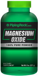 Piping Rock Magnesium Oxide Powder 8 oz (227 g)