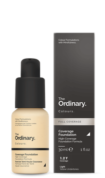 The Ordinary. Colours Coverage Foundation