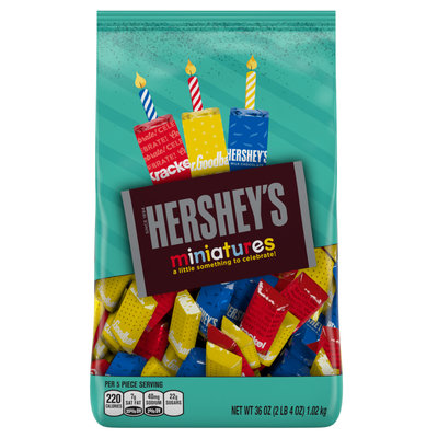 Hershey's Birthday Miniatures Candy