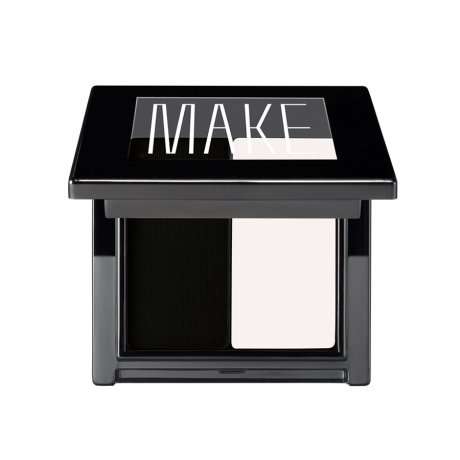 Make Super Matte Cake Eyeliner Duo - Salt/Coal-Colorless