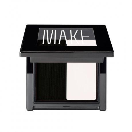 Make Super Matte Cake Eyeliner Duo - Salt/Coal-Colorless