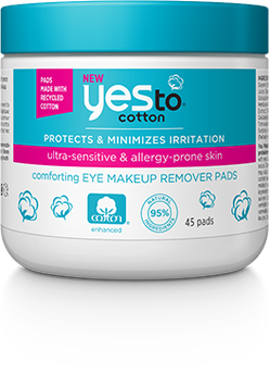 Yes To Cotton Eye Makeup Remover Pads