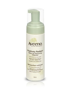 Aveeno® Positively Radiant Makeup Removing Cleanser