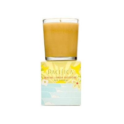 Pacifica Malibu Lemon Blossom Soy Candle