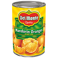 Del Monte® Mandarin Oranges In Light Syrup