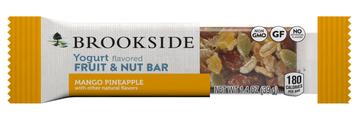 Hershey's Brookside Yogurt Flavored Fruit and Nut Bars Mango with Pineapple