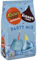 Hershey's Party Mix Kisses & Reese's Miniatures with Light Pink Foils