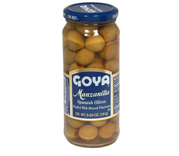 Goya® Manzanilla Olives Stuffed with Minced Pimientos