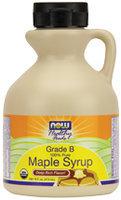 Now Foods Maple Syrup Organic Non-GE 16 oz Liquid