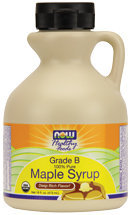 Now Foods Maple Syrup Organic Non-GE 16 oz Liquid