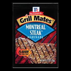 McCormick® Grill Mates® Montreal Steak Marinade