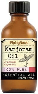 Piping Rock Marjoram Essential Oil 2 fl oz 100% Pure Oil Therapeutic Grade