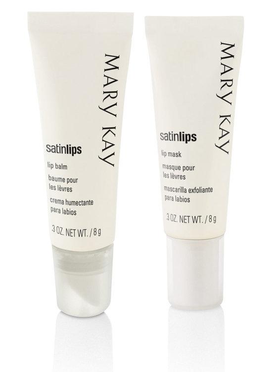 Slide: Mary Kay Satin Lips Set - Lip Balm & Lip Mask