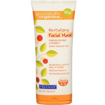 Freeman Beauty Freeman Good Stuff Organics Revitalizing Facial Mask, Pumpkin Enzymes & Vitamin C
