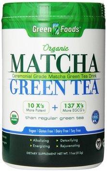 Green Foods Organic Matcha Green Tea