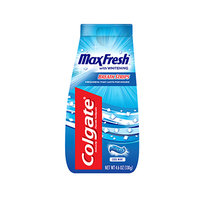 Colgate® MaxFresh® with WHITENING BREATH STRIPS Liquid Toothpaste Cool Mint