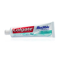 Colgate® MAX WHITE® with MINI-BRIGHT STRIPS Toothpaste Crystal Mint