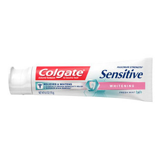 Colgate® Maximum Strength Sensitive WHITENING Toothpaste