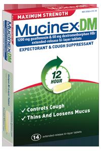 Mucinex DM Cough & Chest Congestion Tablets