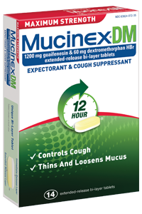 Mucinex DM Cough & Chest Congestion Tablets