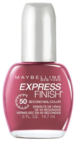Maybelline Express Finish 50 Second Nail Color Reviews 2019