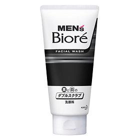Bioré Men's Double Scrub With Black & White Beads
