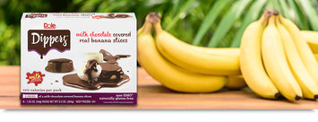 Dole Dippers™ Milk Chocolate Covered Real Banana Slices